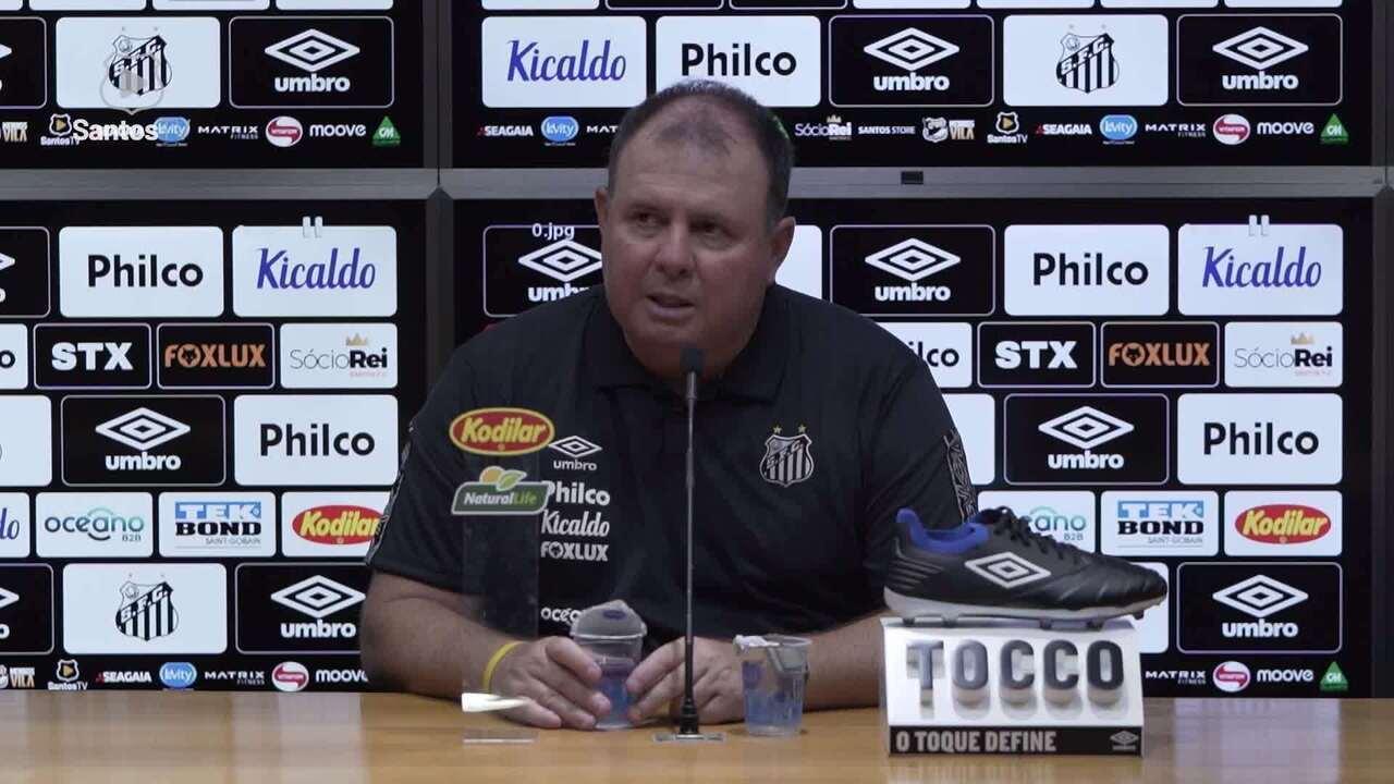 Confira a coletiva do técnico Marcelo Fernandes, após empate entre Santos e Ferroviária