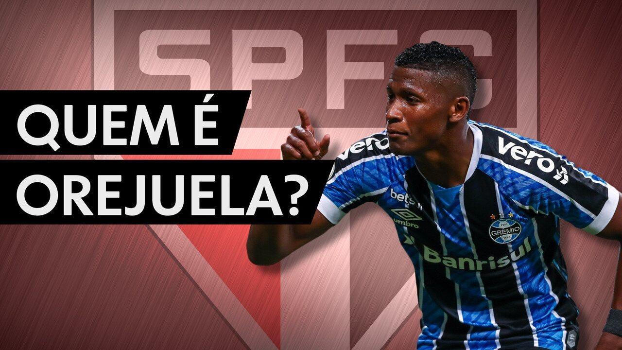 Quem é Orejuela, a mais nova contratação do São Paulo?