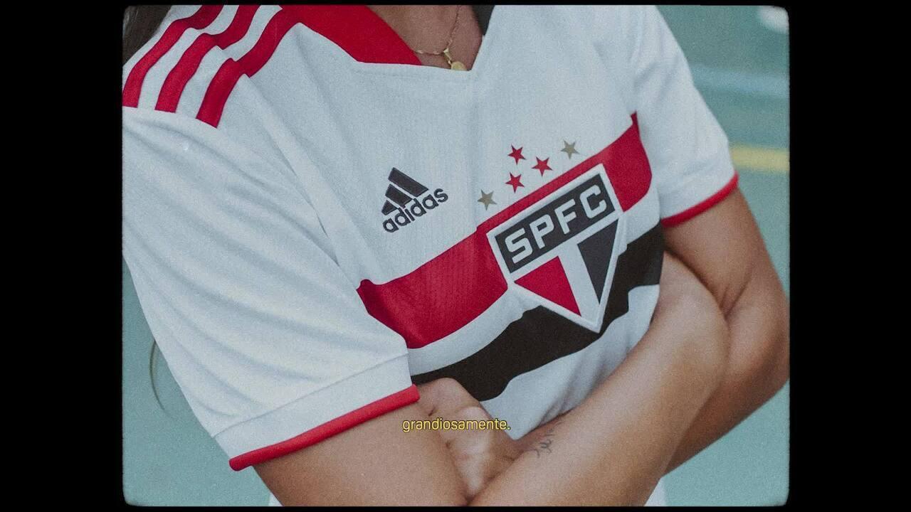 Veja a camisa do São Paulo para 2021 em vídeo narrado pelo ex-BBB Lucas Penteado