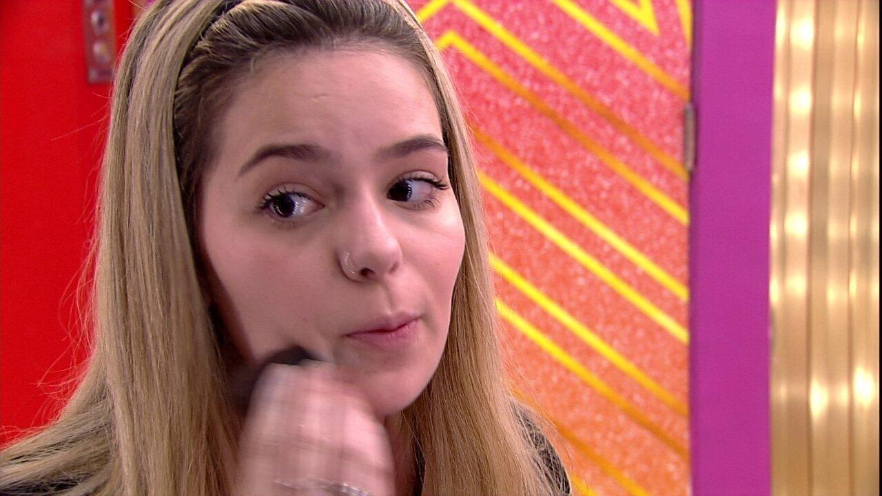Viih Tube para sister do BBB21: 'Vocês duas são minhas prioridades aqui dentro'