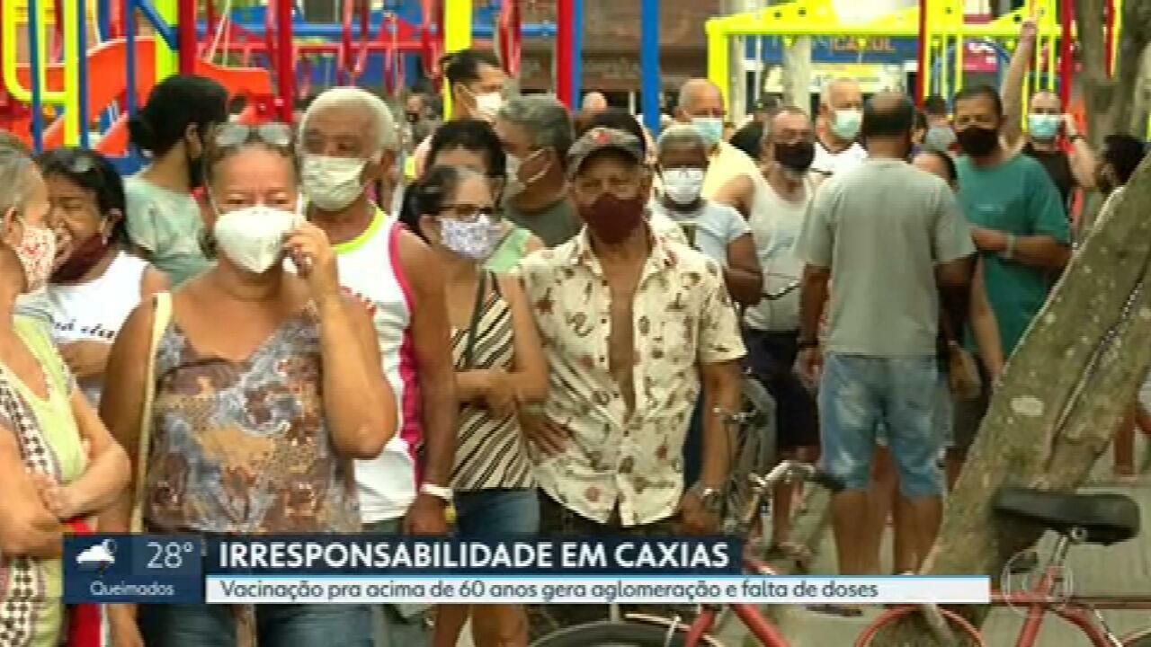 Após caos na vacinação, Justiça manda Caxias seguir o plano nacional de imunização
