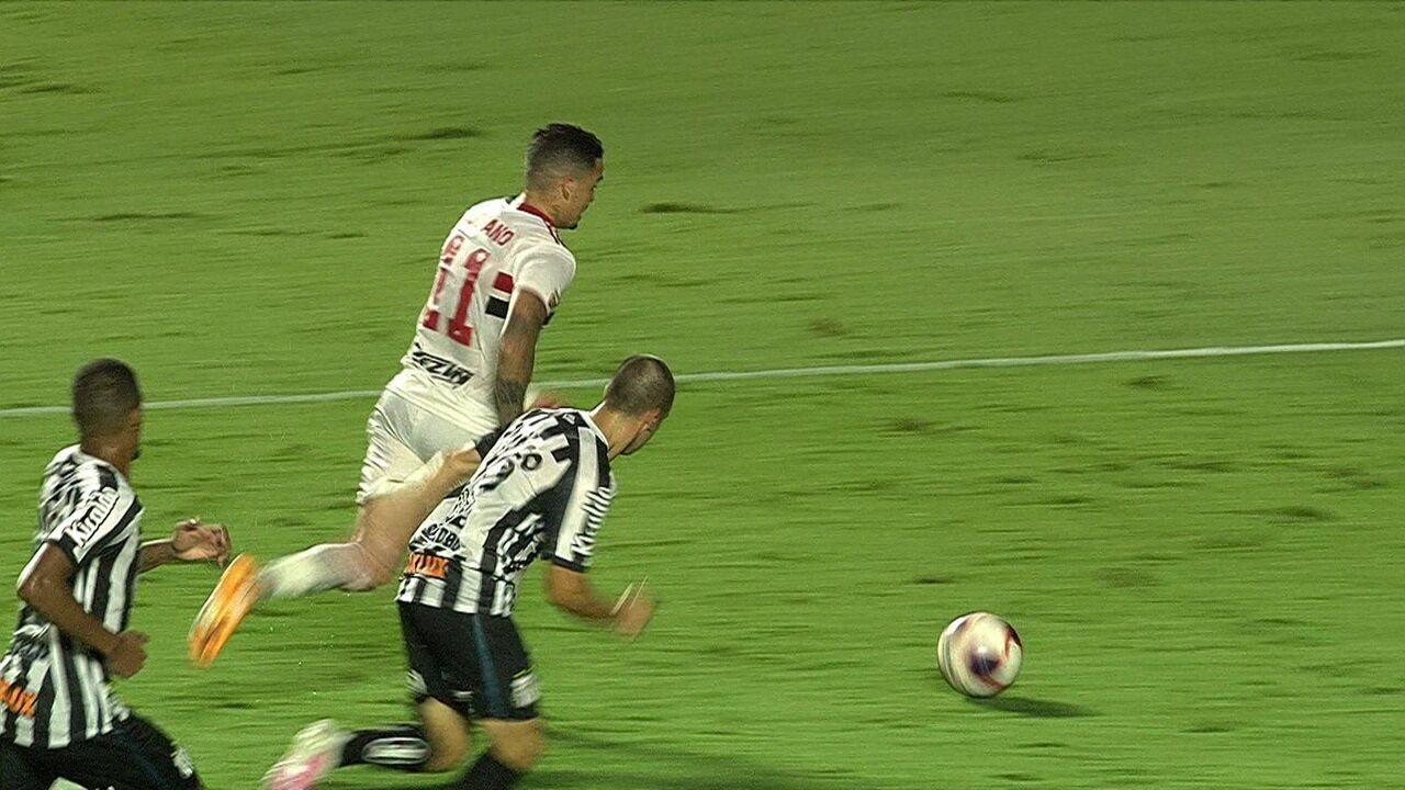Melhores momentos: São Paulo 4 x 0 Santos pela 3ª rodada do Campeonato Paulista