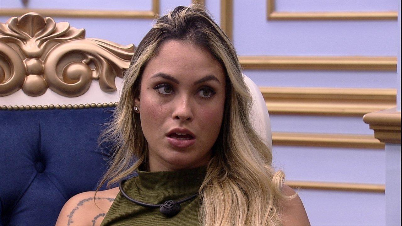 Sarah sugere que Rodolffo não vete sister: 'Você vai perder aliado'