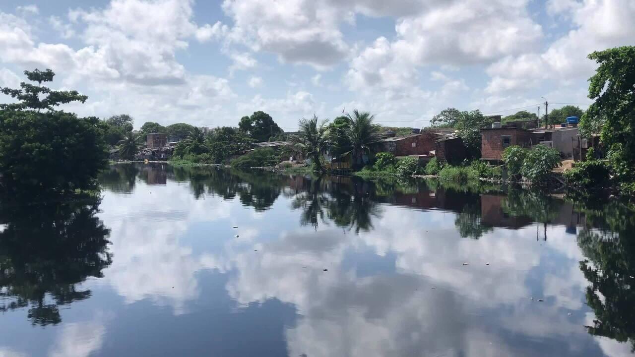 Conheça local em que o Rio Beberibe se torna o limite entre as cidades do Recife e Olinda
