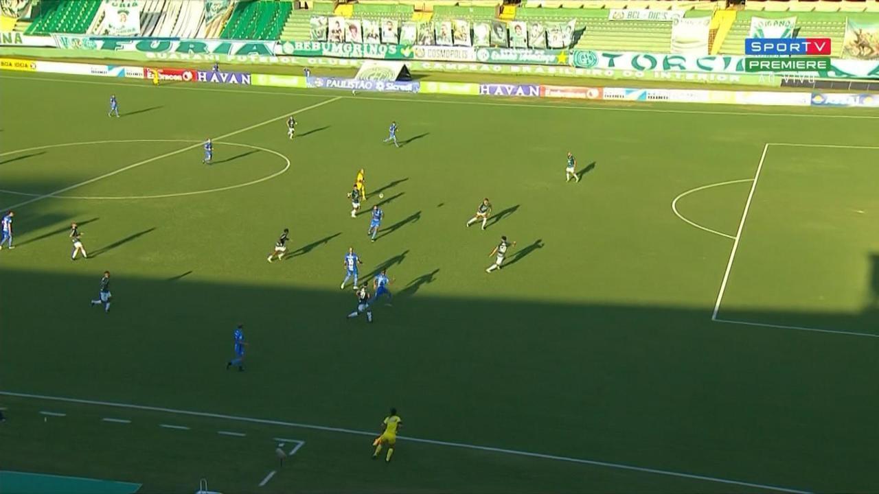 Confira os melhores momentos de Guarani 0 x 0 São Bento pela 4 ª rodada do Paulistão