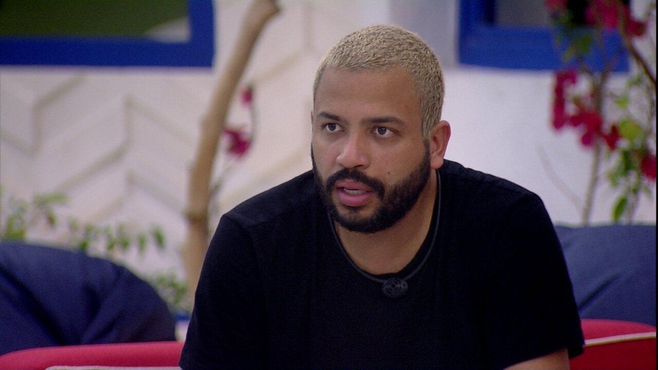 """Projota diz para Gilberto: 'É bom sair sem arrependimentos""""."""