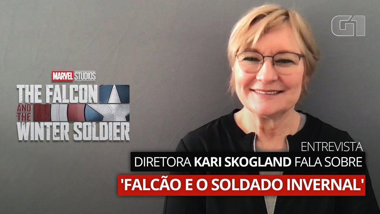 Diretora Kari Skogland fala sobre 'Falcão e o Soldado Invernal'