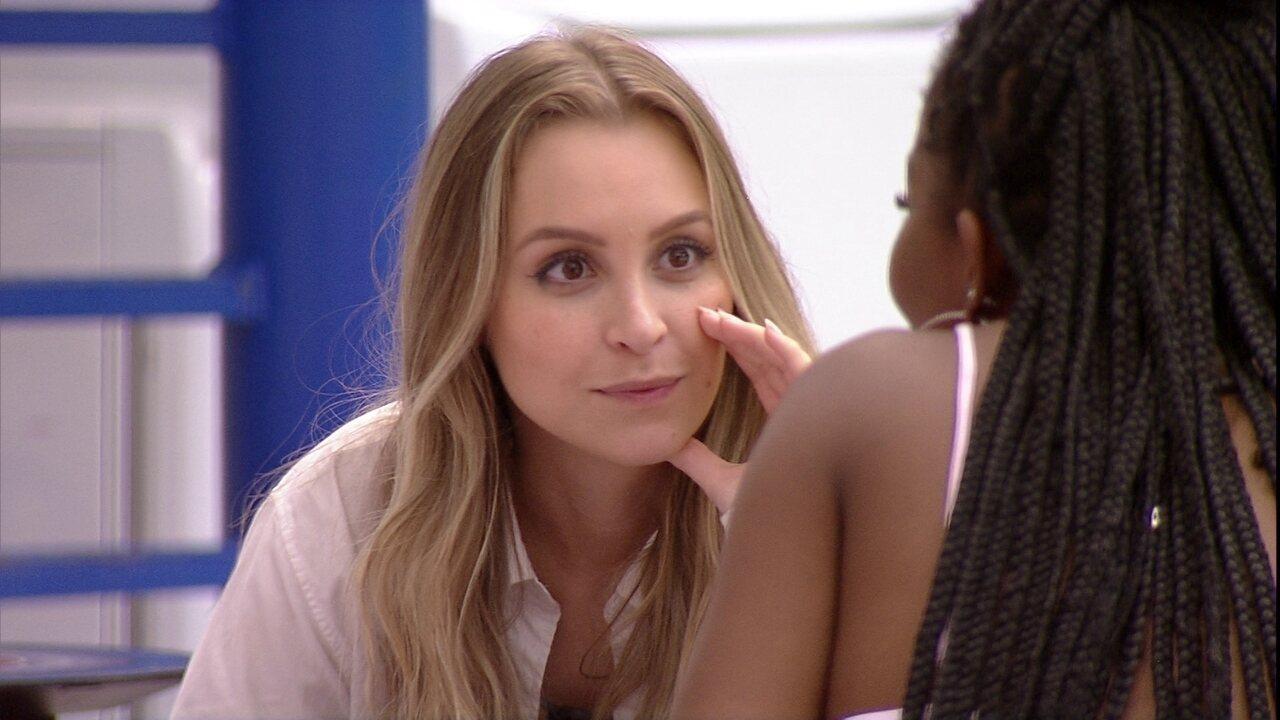 No BBB21, Carla Diaz revela o poder especial que tem a Camilla de Lucas