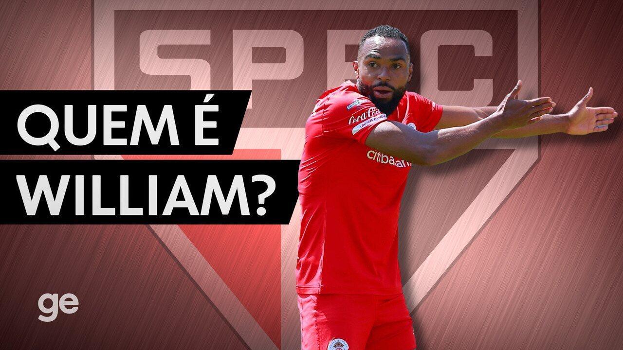 Quem é William, nova contratação do São Paulo?