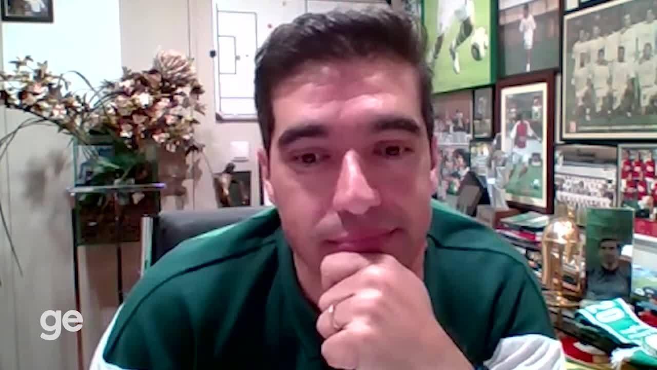 Abel Ferreira fala sobre a relação com a torcida do Palmeiras