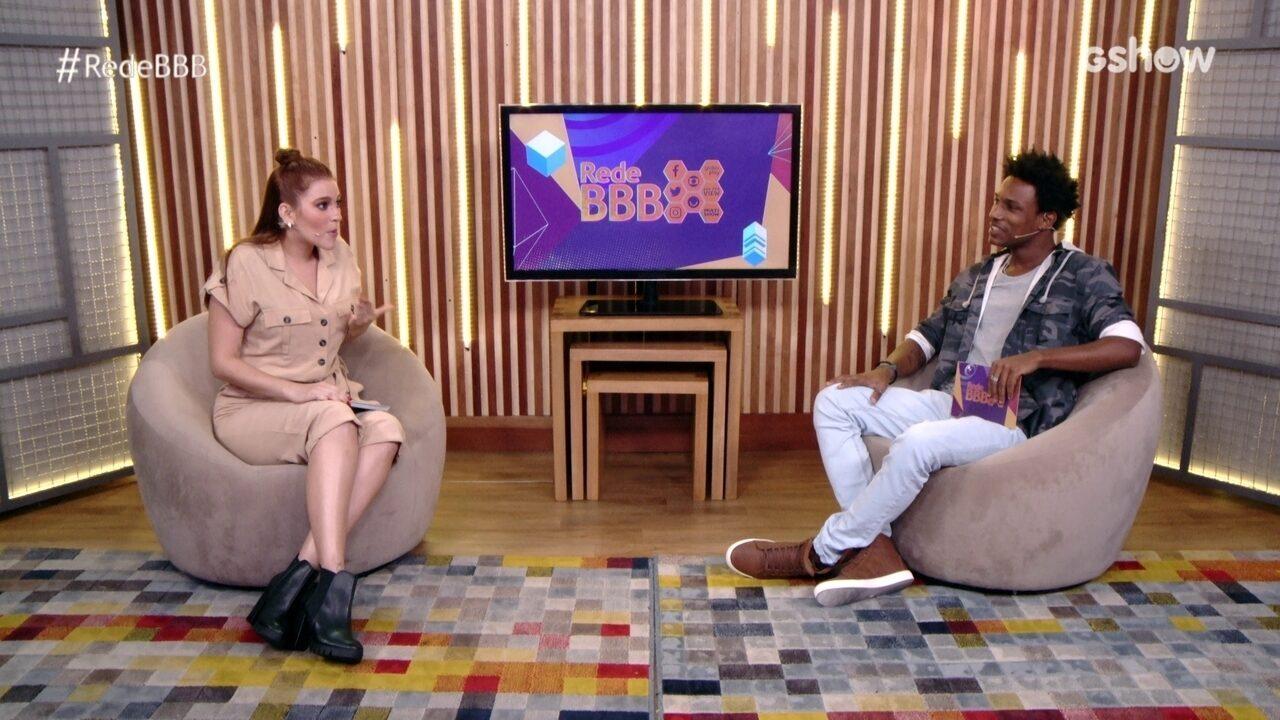 Bate-Papo BBB: Ana Clara e Rhudson mostram seus looks da C&A