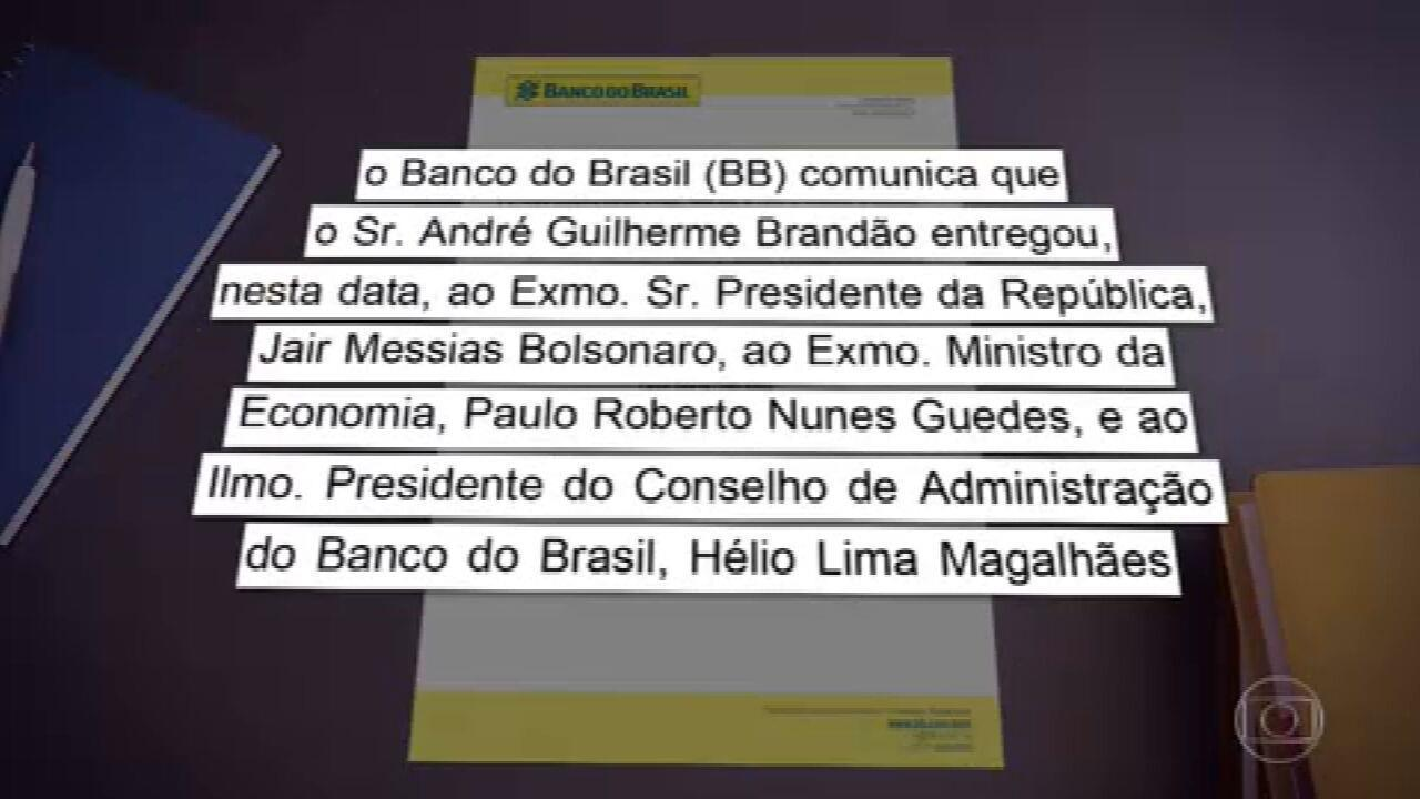 Presidente do Banco do Brasil, André Brandão, pede demissão
