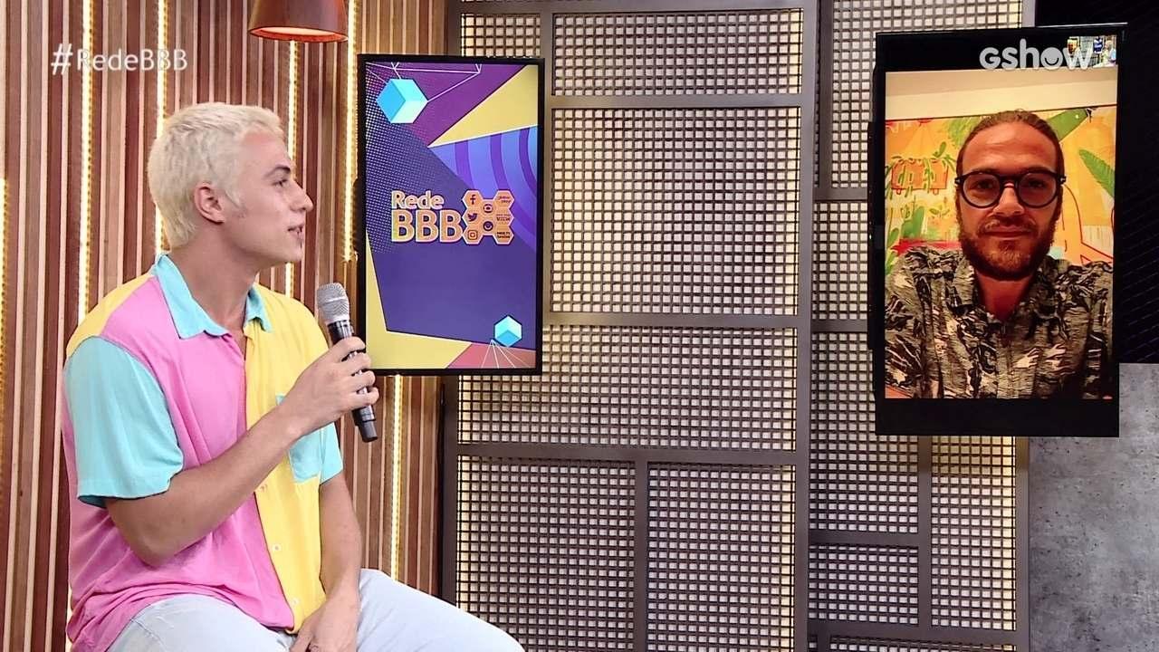 Na Mesa BBB, Francisco Vitti opina sobre possível vitória na Prova do Líder