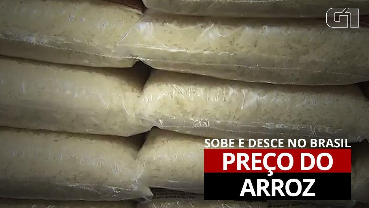 Entenda as oscilações no preço do arroz