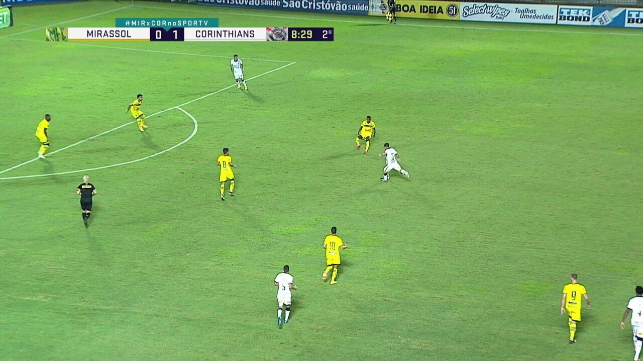 Melhores momentos: Mirassol 0 x 1 Corinthians, pela 5ª rodada do Paulistão