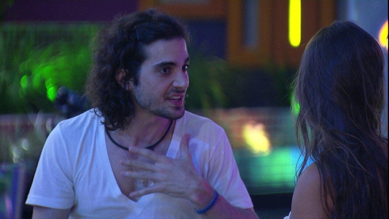 Fiuk cita desavença com Juliette e critica a sister no BBB21: 'Sempre tentou me queimar'