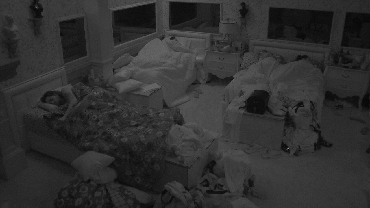 Após noite de Prova do Líder, todos dormem na casa do BBB21