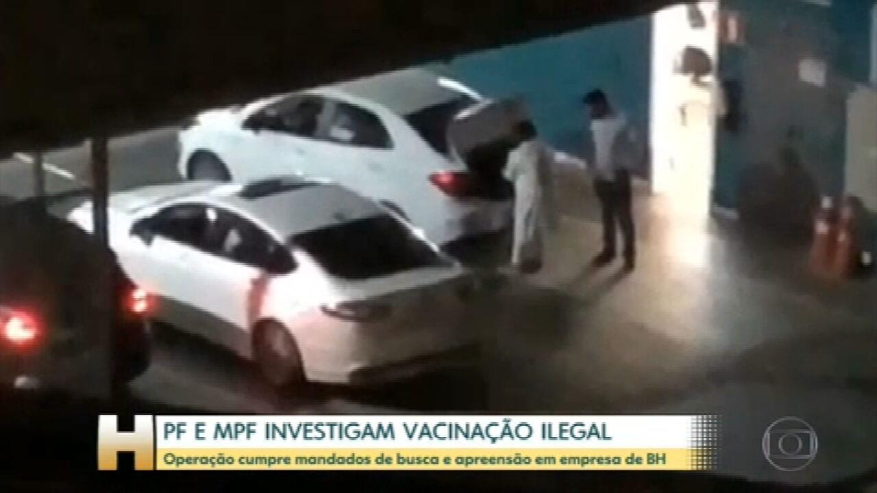 PF faz operação para investigar denúncia de vacinação ilegal de empresários do transporte em BH