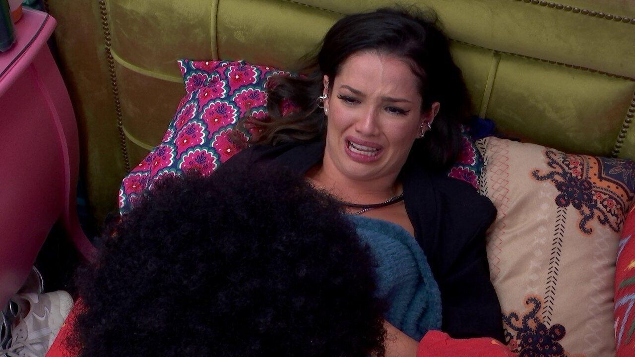 Após Jogo da Discórdia, Juliette chora com João Luiz e desabafa: 'Bando de hipócrita'