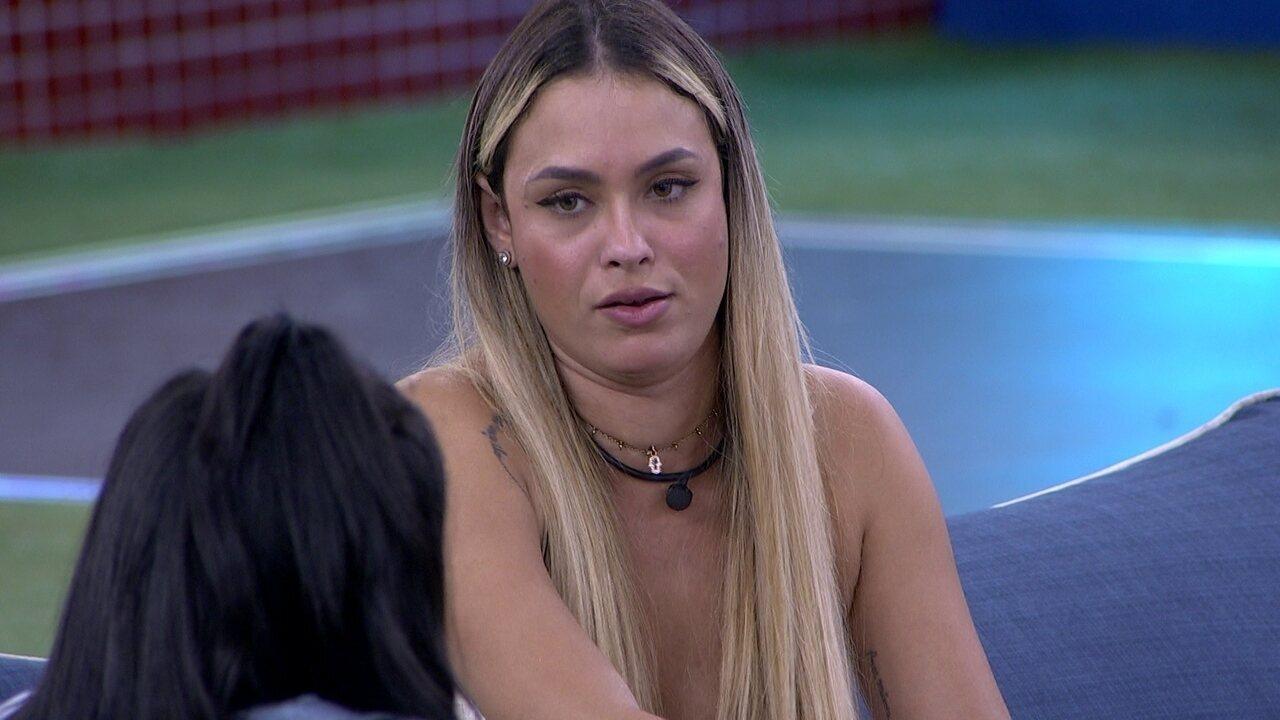 Sarah desabafa sobre brothers com Pocah: 'Rodolffo eu não quero desculpar'