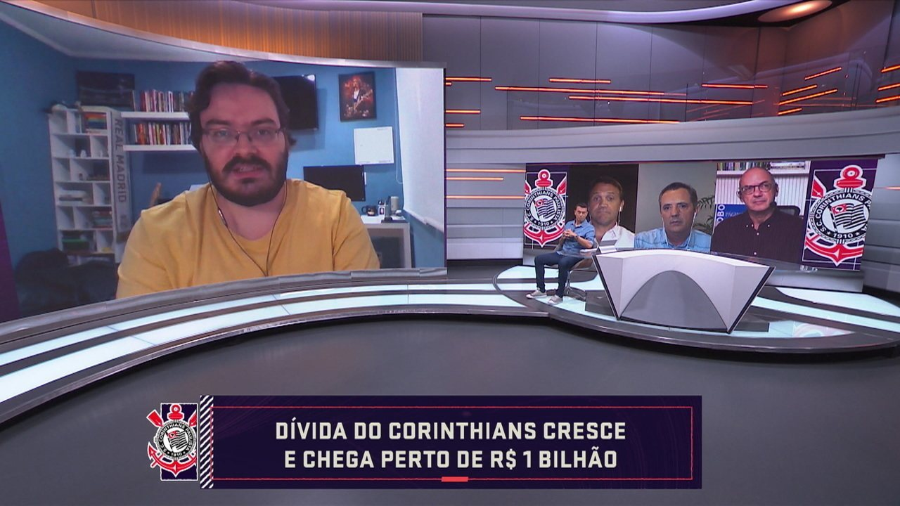 Dívida do Corinthians cresce e chega perto de R$ 1 bilhão
