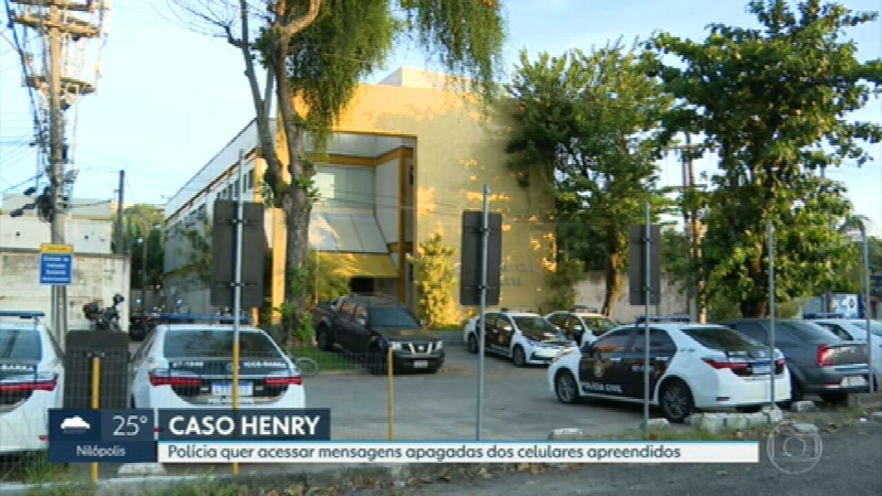 Polícia tenta recuperar mensagens dos celulares de Dr. Jairinho e da mãe do menino Henry