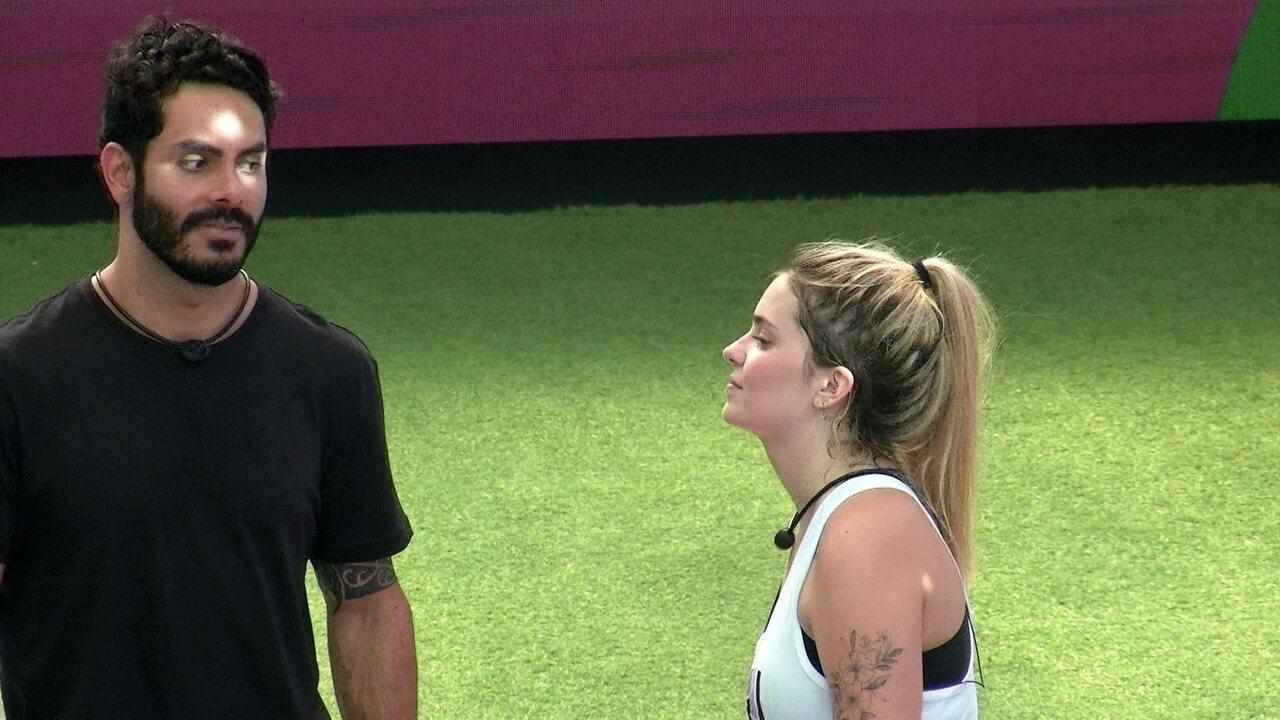 Rodolffo fala sobre brother na Prova do Líder: 'Queria esperar ele sair'