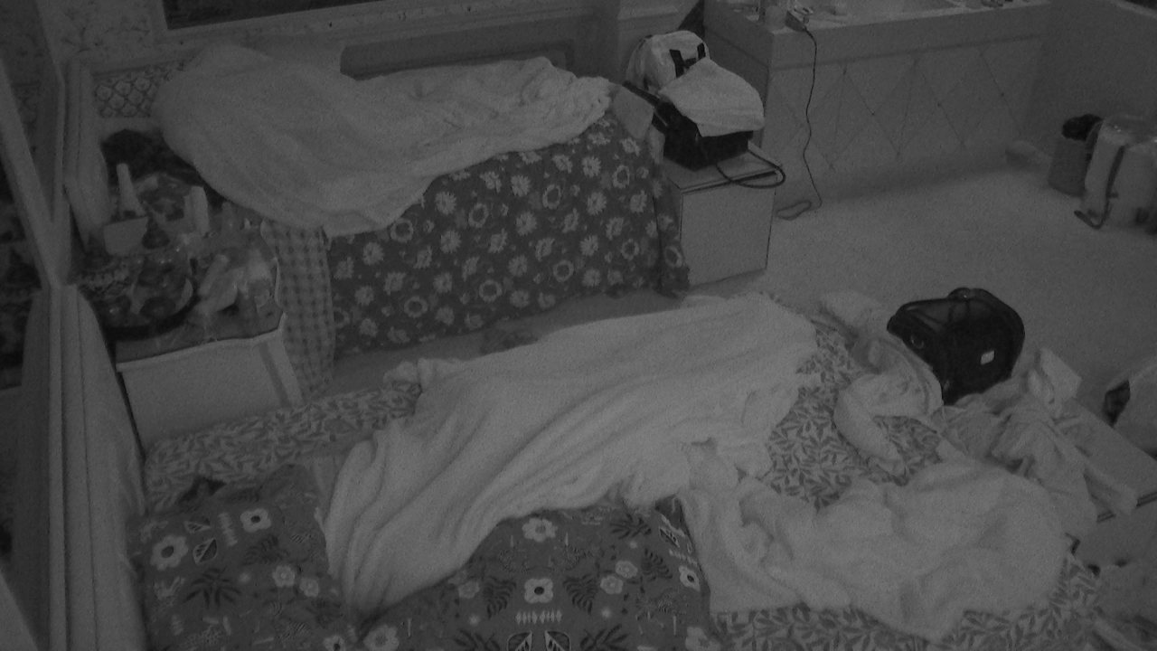 Todos dormem após madrugada animada no BBB21