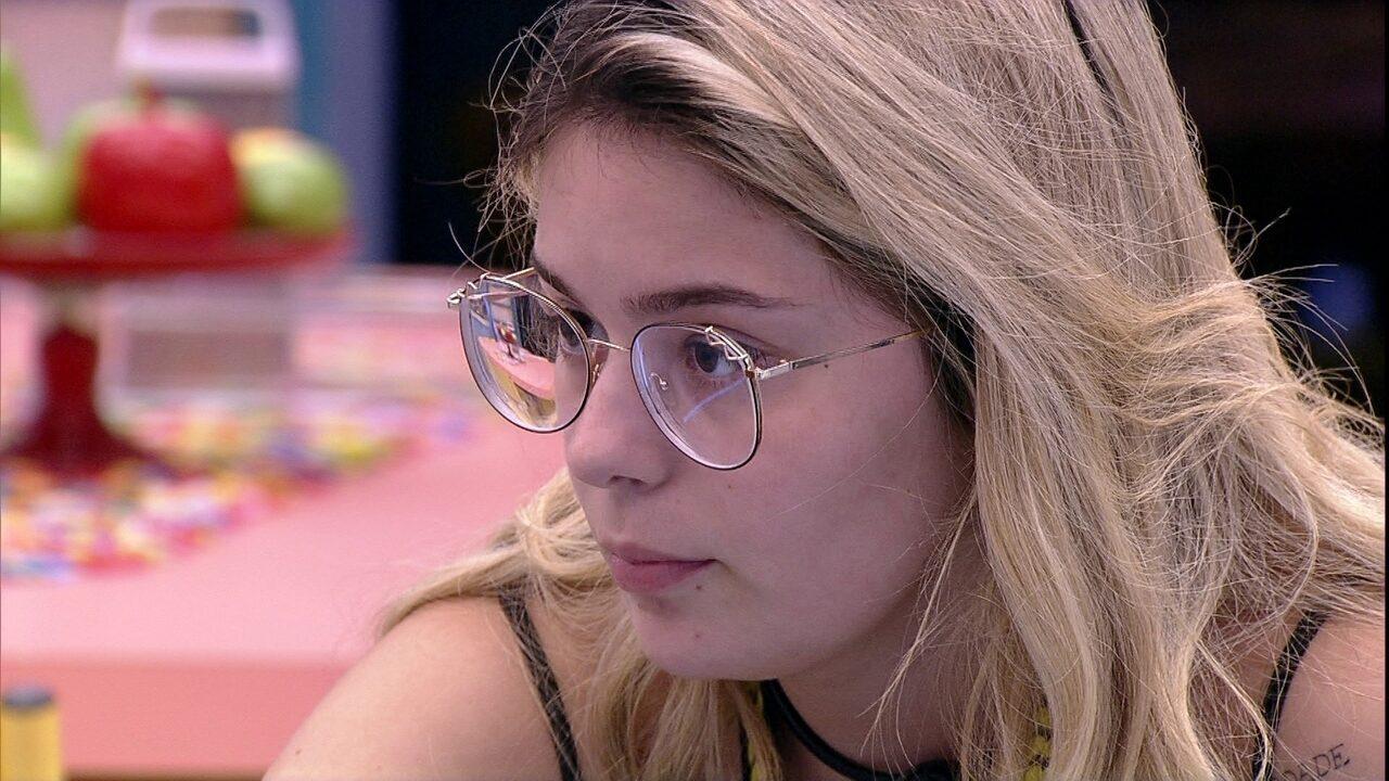 Líder Viih Tube fala de brother com Juliette: 'Se você e Thaís forem nele, empata'
