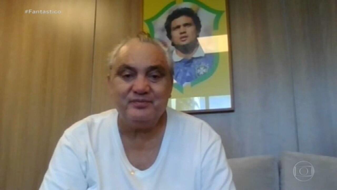 Recuperado da Covid, Branco completa 57 anos: 'Vamos festejar a vida'