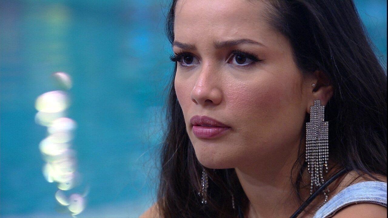 Juliette desabafa sobre Caio com Rodolffo: 'Está se virando contra uma pessoa que defendeu