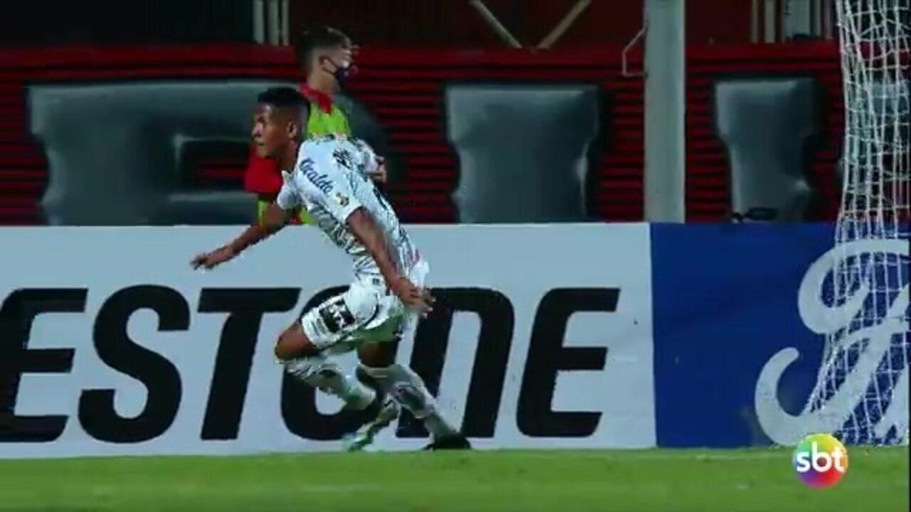 Santos derrota San Lorenzo por 3 a 1 pela Libertadores