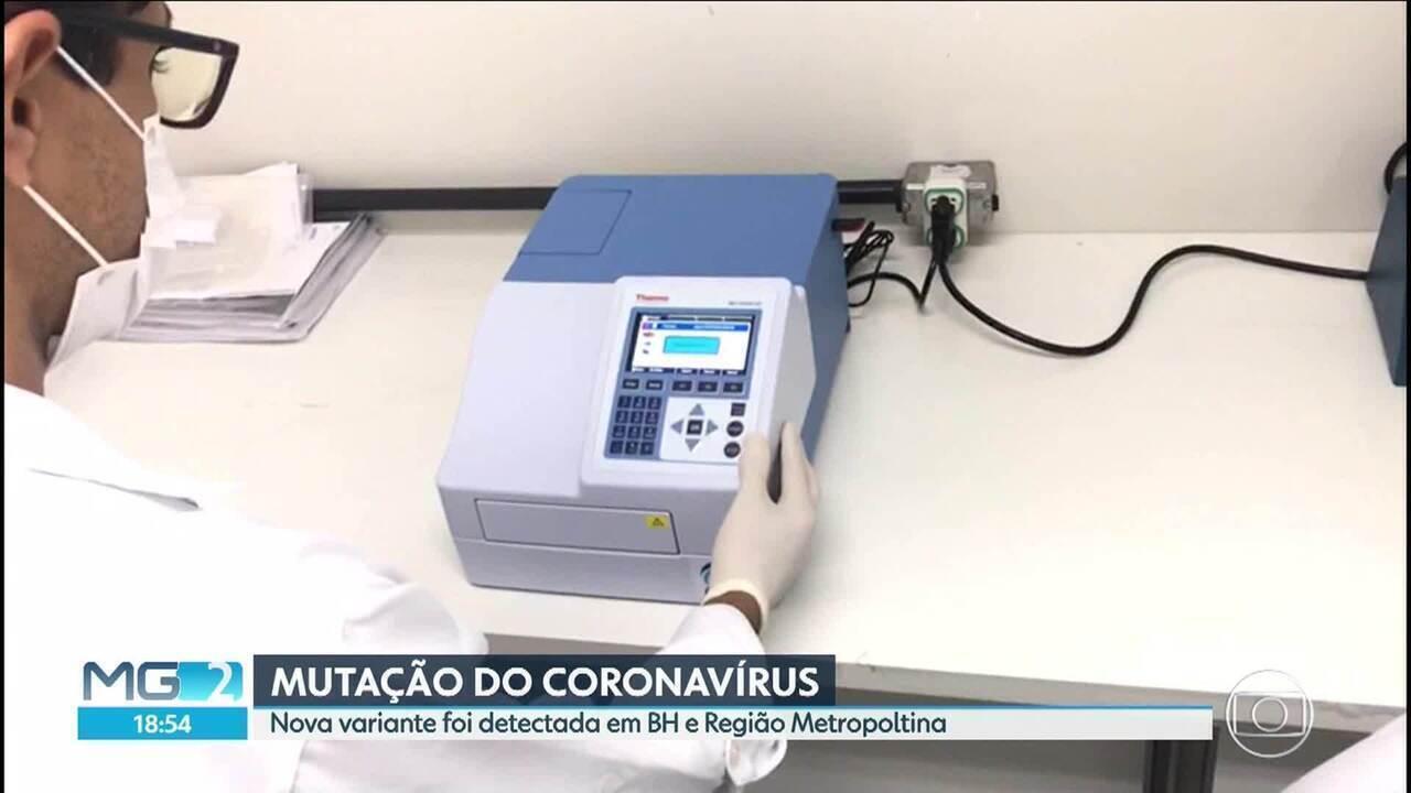 Nova variante é detectada em BH e Região Metropolitana