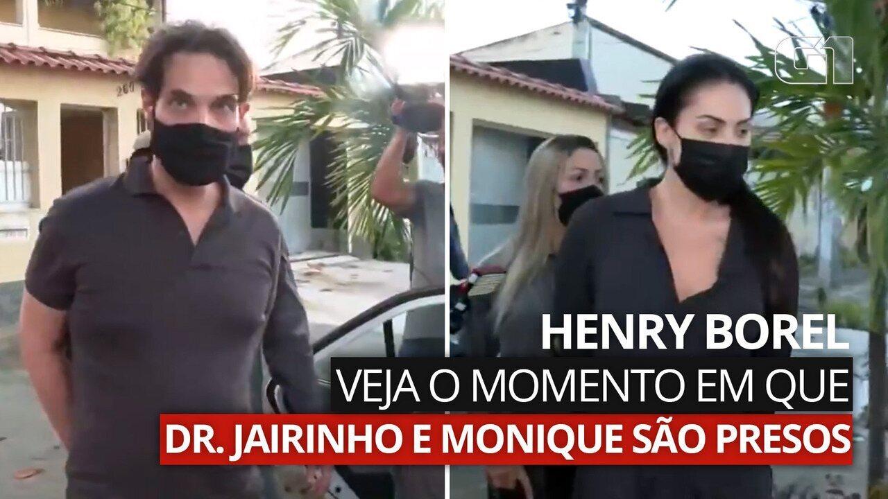 Veja o momento em que Dr. Jairinho e mãe de Henry são presos no Rio