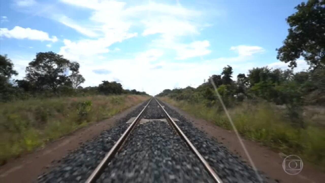 Trecho de ferrovia leiloado pelo governo é alvo de críticas de ambientalistas
