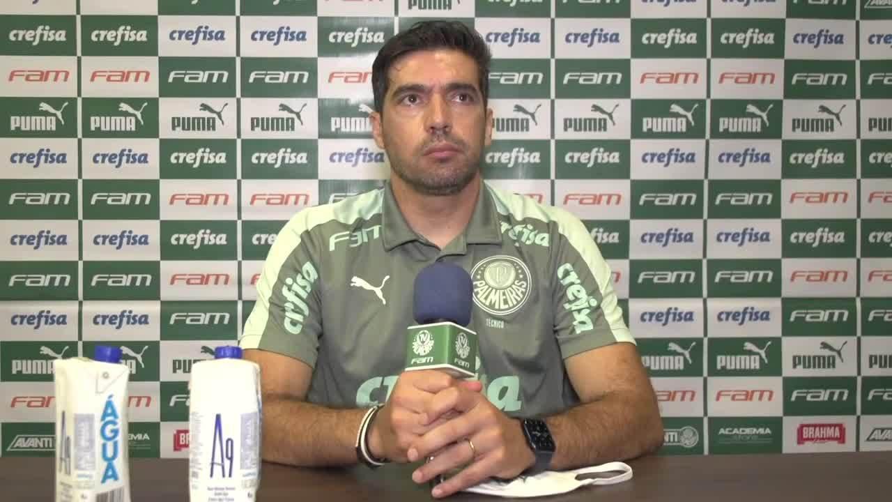 Confira a coletiva do Abel Ferreira após a derrota do Palmeiras na Supercopa do Brasil