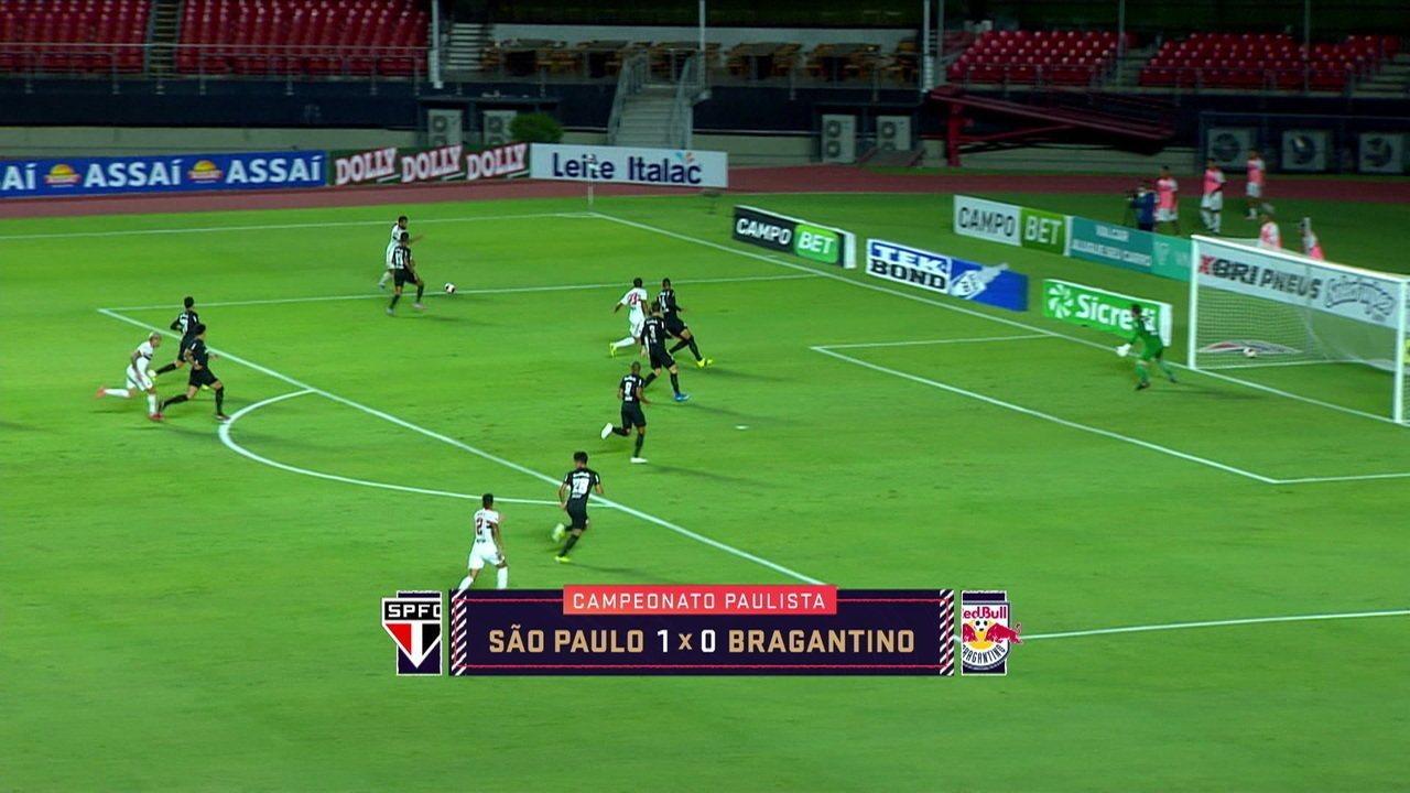 Noriega elogia atuação de Luciano na vitória do São Paulo sobre o Bragantino