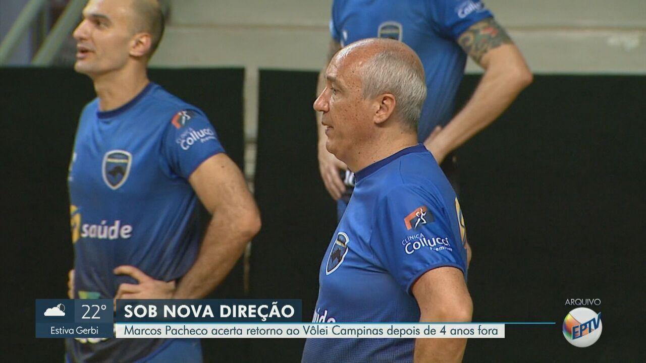 Vôlei Campinas anuncia contratação de Marcos Pacheco como novo técnico