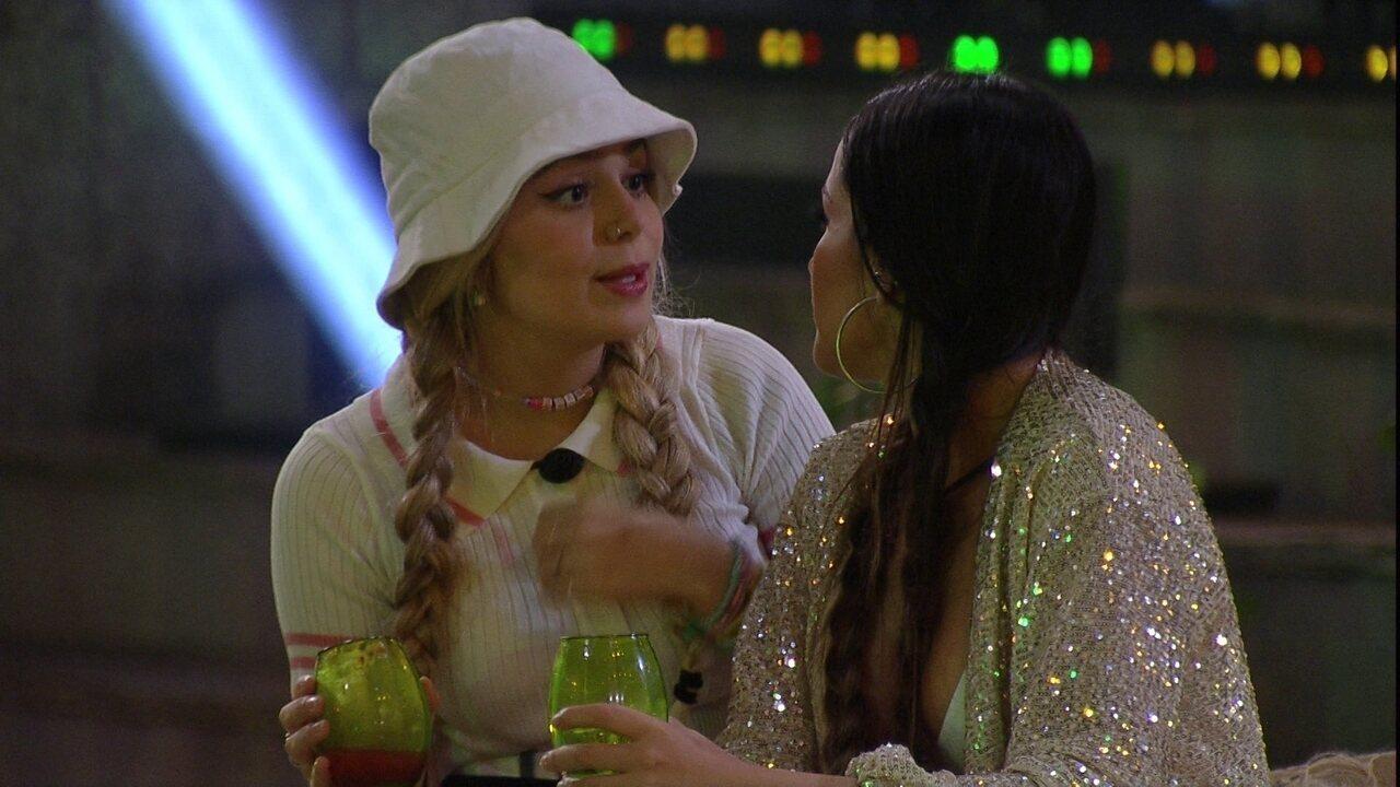 Viih Tube afirma para Juliette no BBB21: 'Prefiro que venham em mim do que em você'