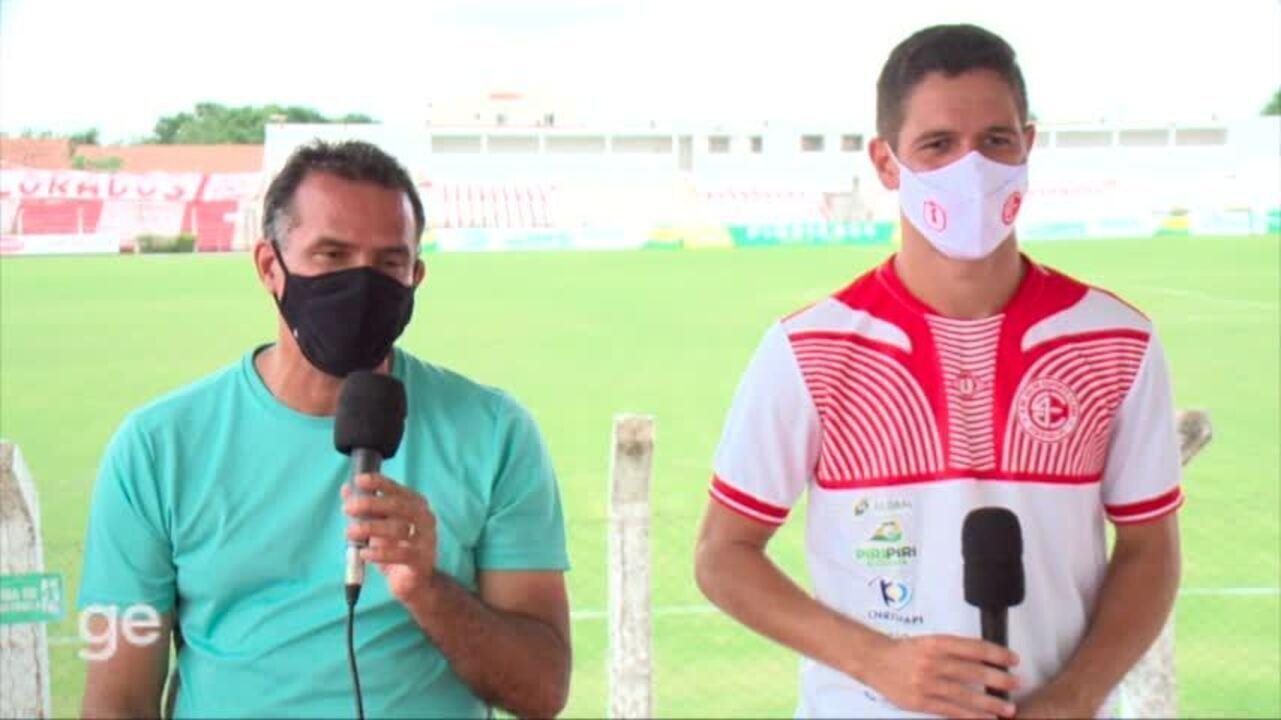 Globo Esporte PI promove encontro de zagueiros e heróis do 4 de Julho