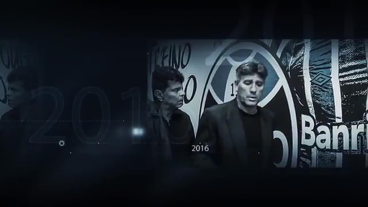Confira o vídeo de homenagem do Grêmio para Renato após sua saída do clube