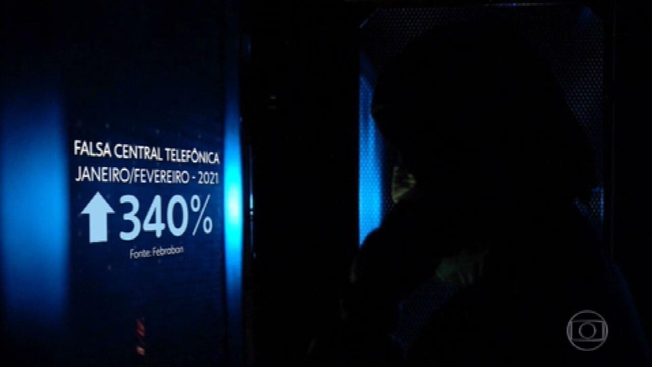 Aumenta número de golpes na internet e no telefone durante a pandemia