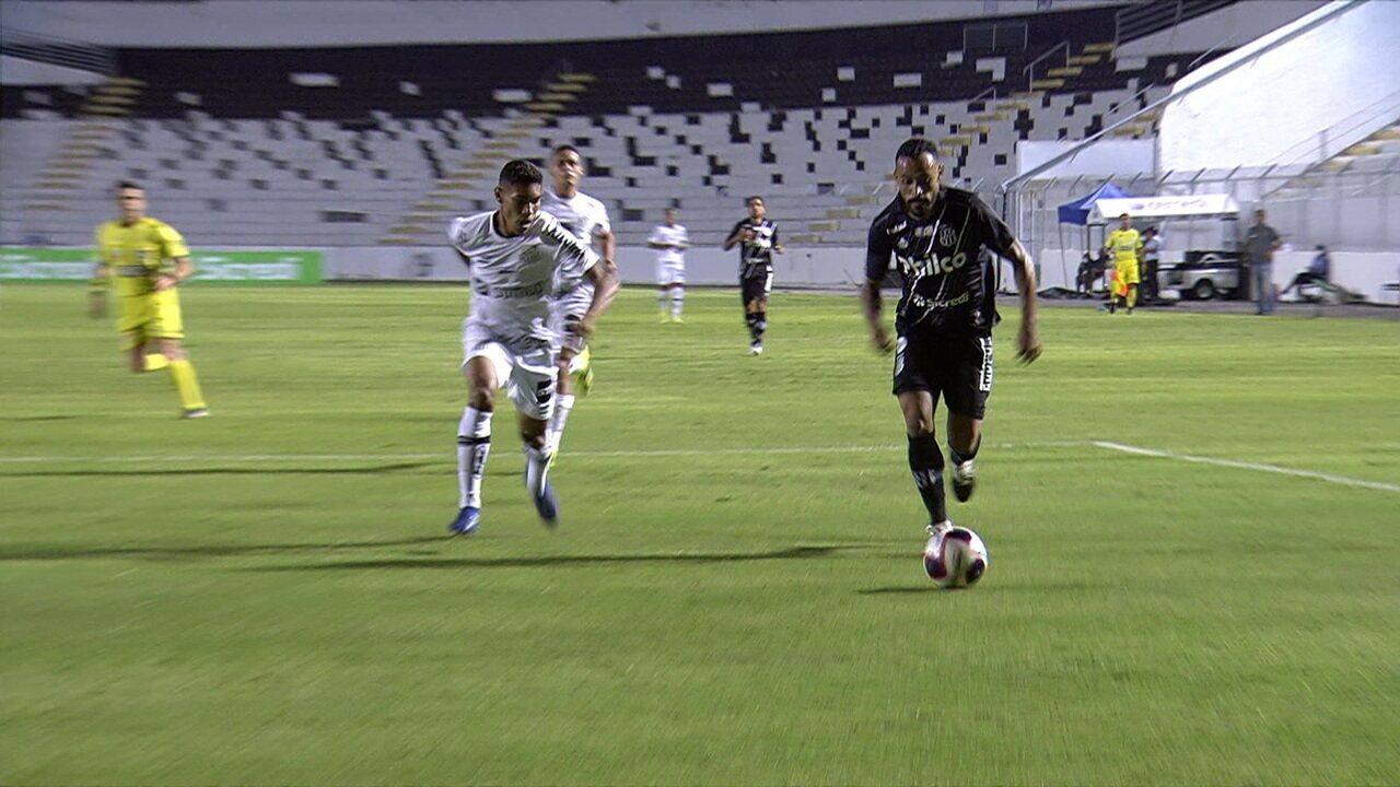 Melhores momentos: Ponte Preta 3 x 0 Santos pela 5ª rodada do Campeonato Paulista