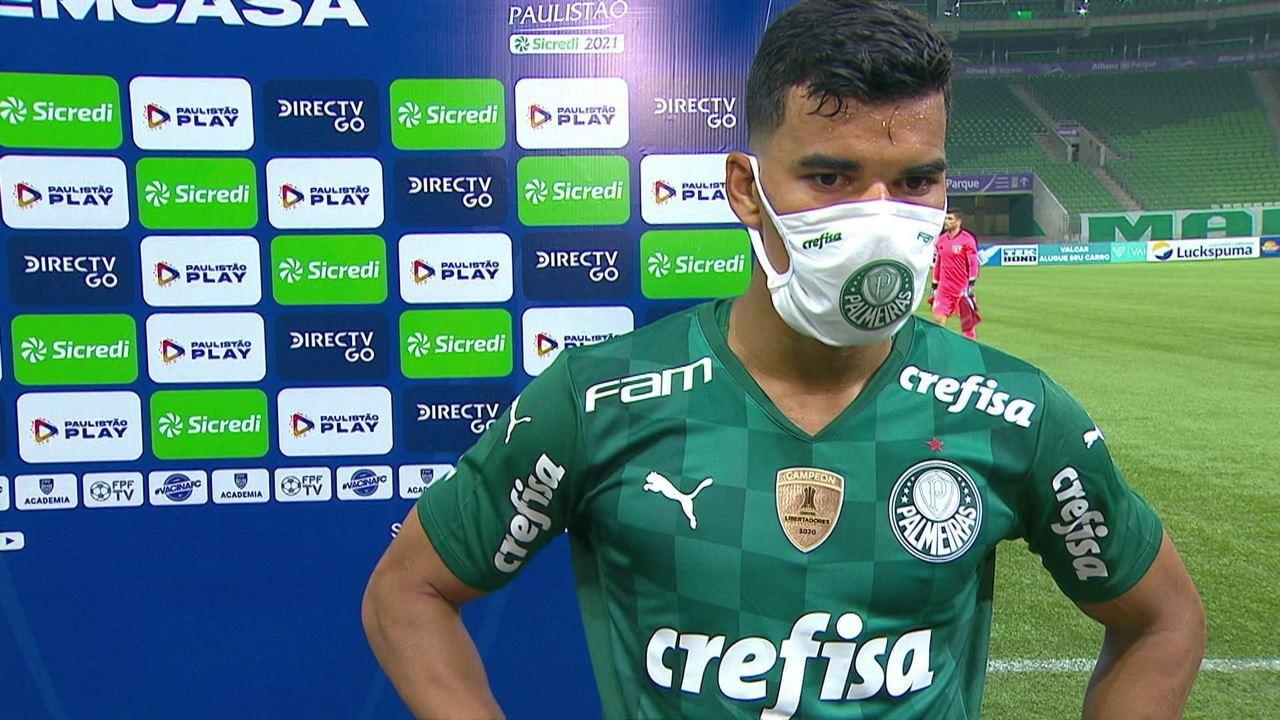 """Danilo Barbosa fala sobre derrota para o São Paulo: """"Jogo decidido no detalhe"""""""