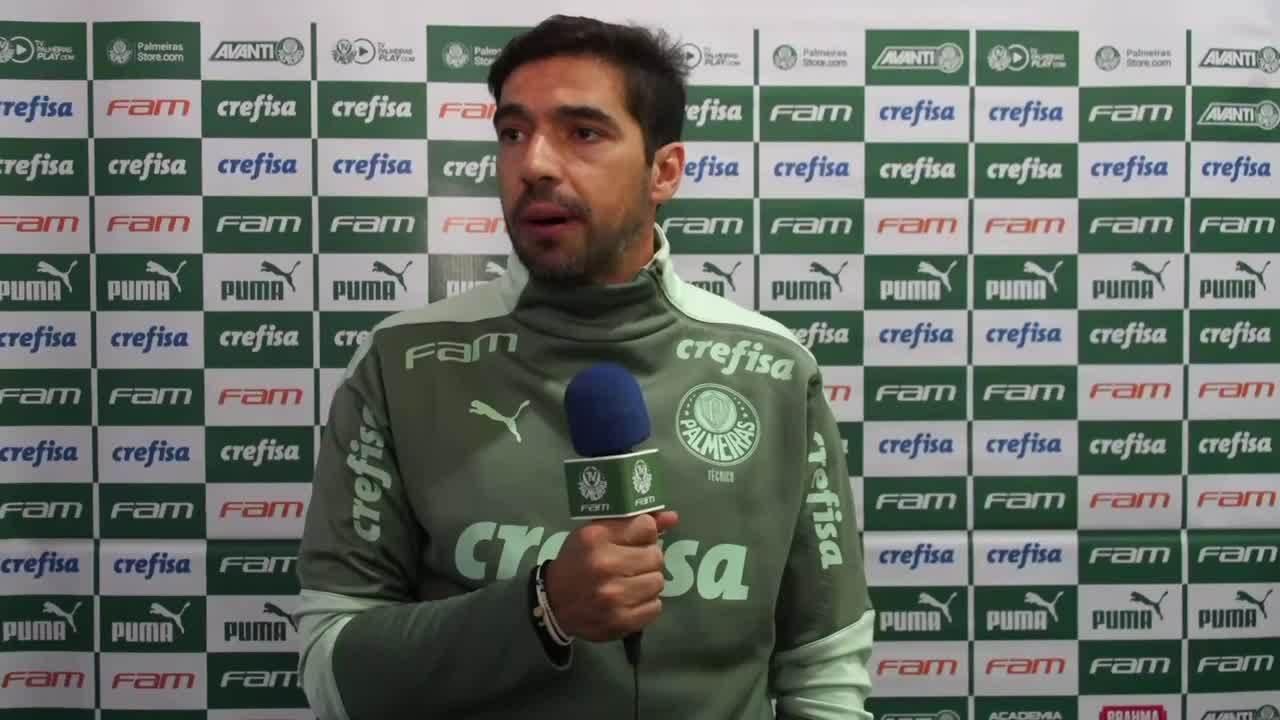 Confira a coletiva de Abel Ferreira após o empate com o Botafogo-SP no Campeonato Paulista