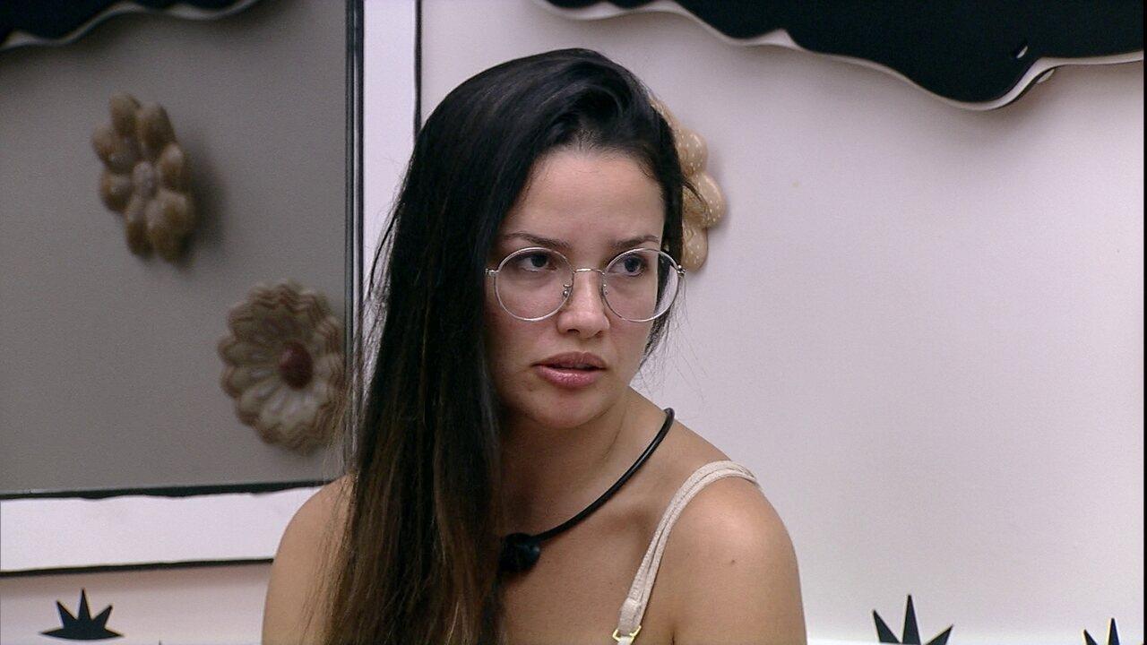 Após discussão com Pocah no BBB21, Juliette diz: 'Não sou desrespeitosa com quem não quer'