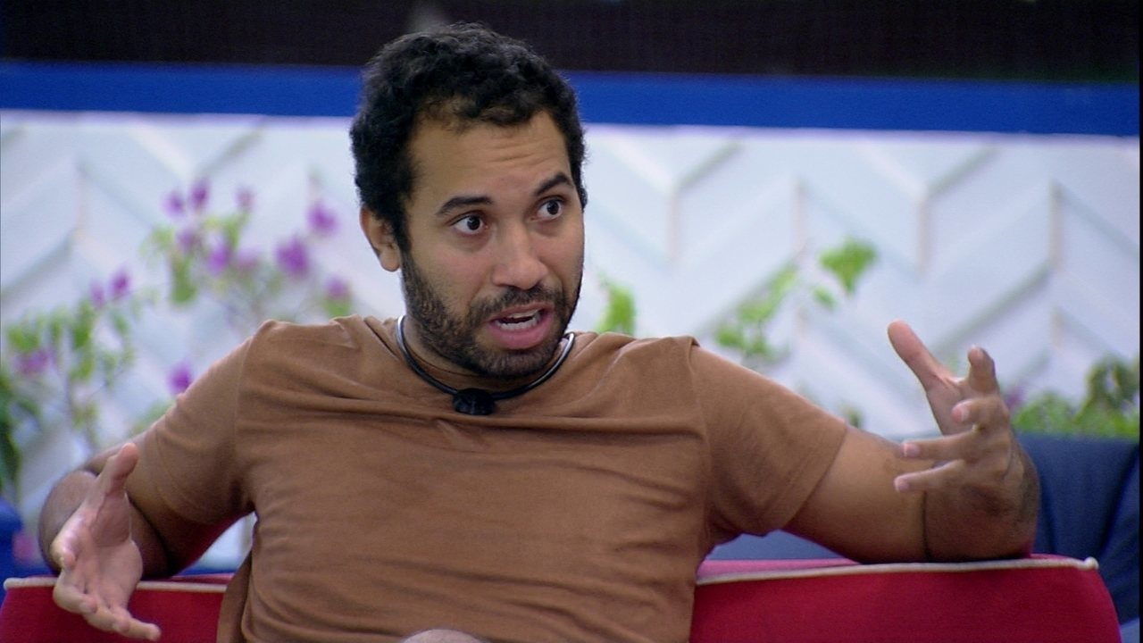 Gilberto conta como está se sentindo antes de Eliminação: 'Estranhamente tranquilo'