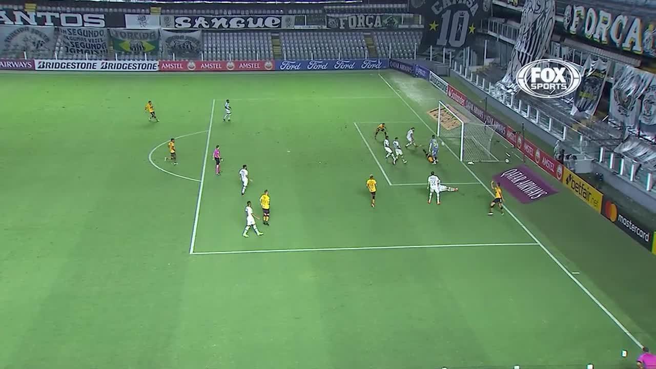 Melhores momentos: Santos 0 x 2 Barcelona-EQU, pela 1ª rodada da Libertadores