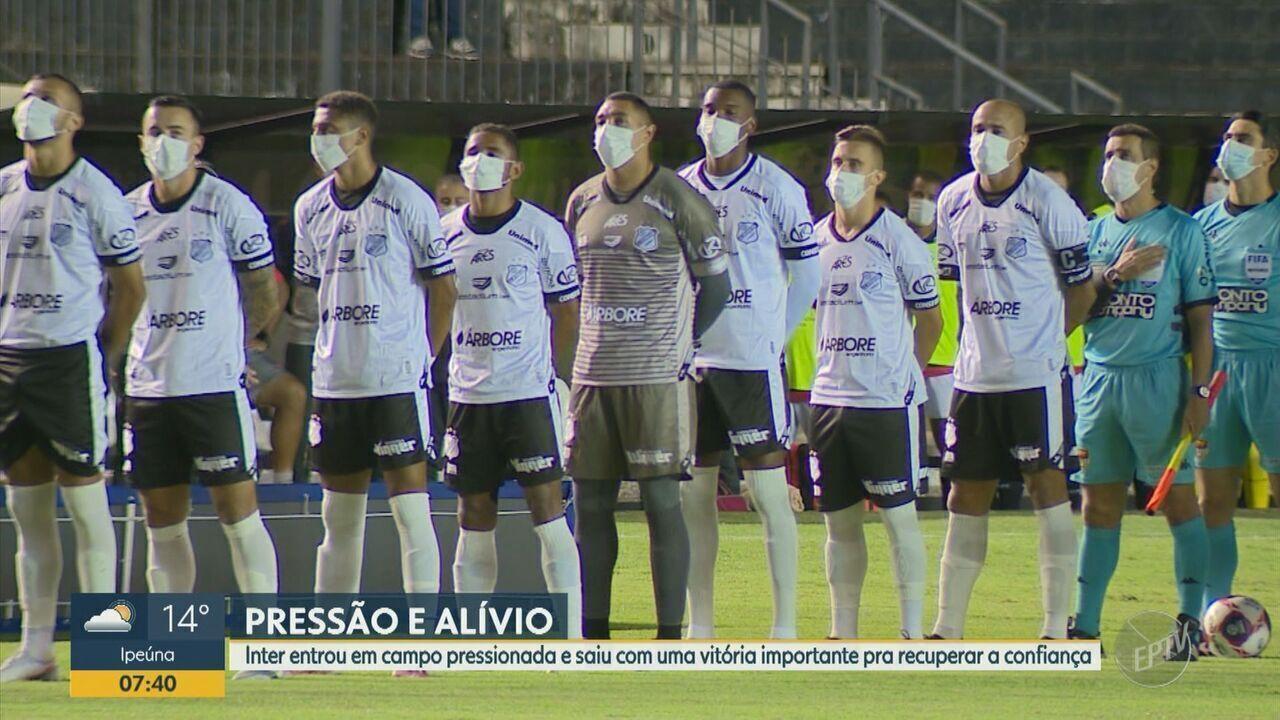 Inter dá a volta por cima e vence o Ituano no Paulistão