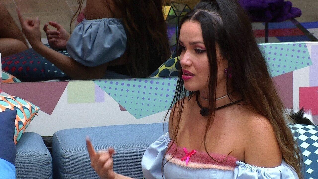 Juliette explica para brother sobre treta com Pocah e Camilla de Lucas no BBB21